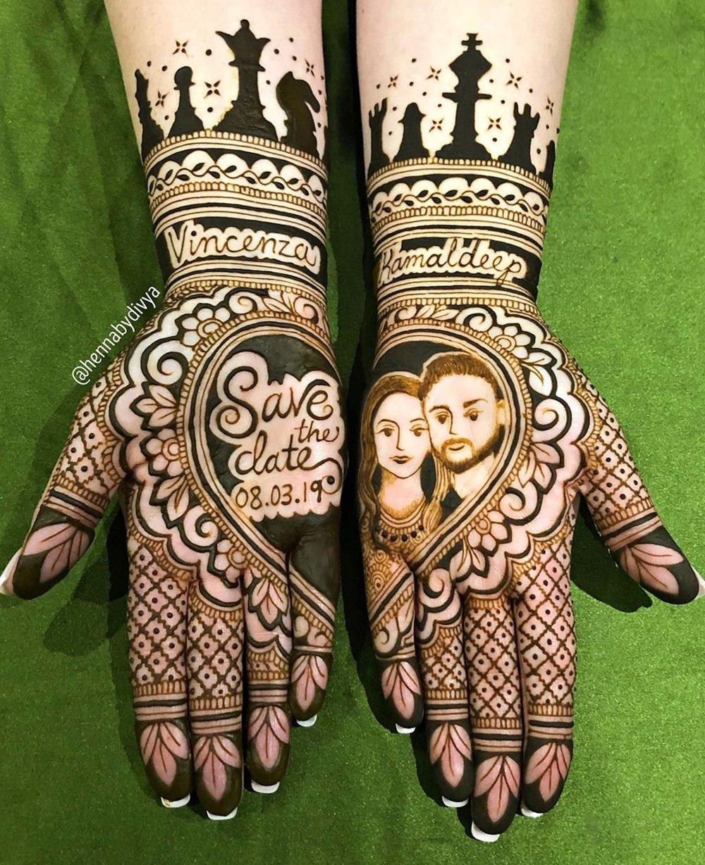 31 Drop Dead Stunning Dulhan Mehndi Designs For Hands Legs