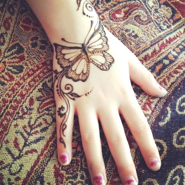 Top 71 Cartoon Simple Mehndi Designs For Kids They Just Love Them