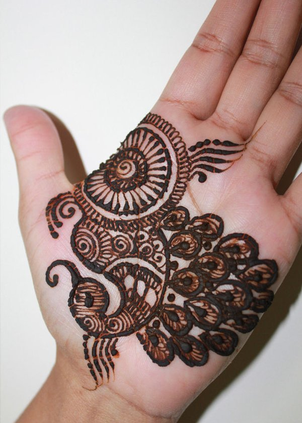 Top 101 Cartoon \u0026 Simple Mehndi Designs For Kids They Just
