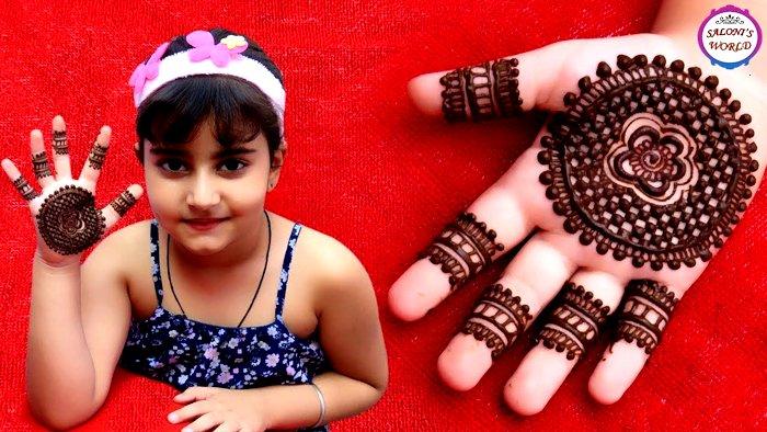 Mehndi Designs For kids 2019