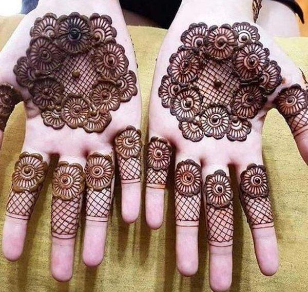 Easy Mehndi Designs For kids