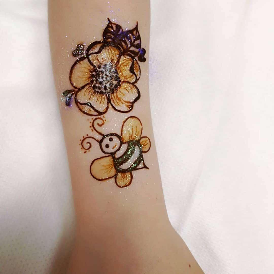 tattoo mehndi design for kids