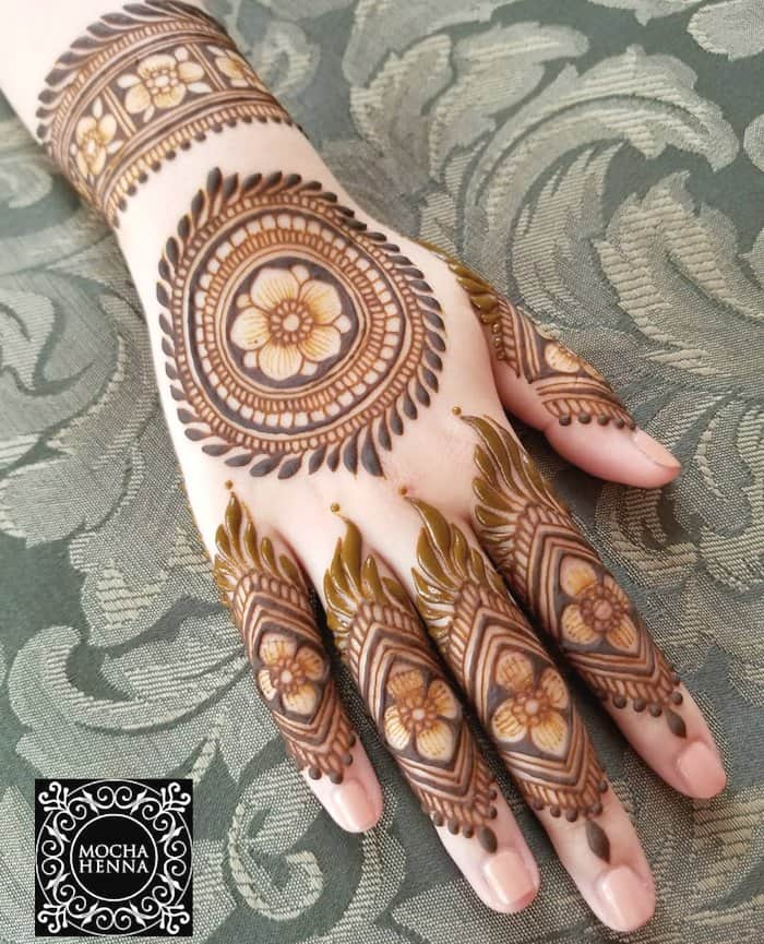 Top 151 Latest Mehndi Designs 2020 Simple Mehandi Design To Try