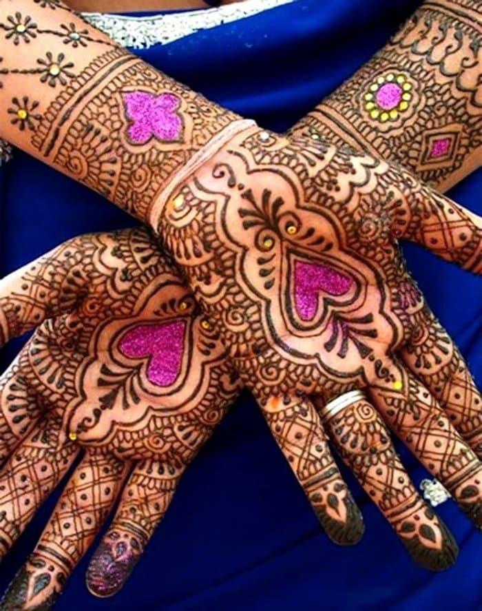 Colorful Mehndi Designs