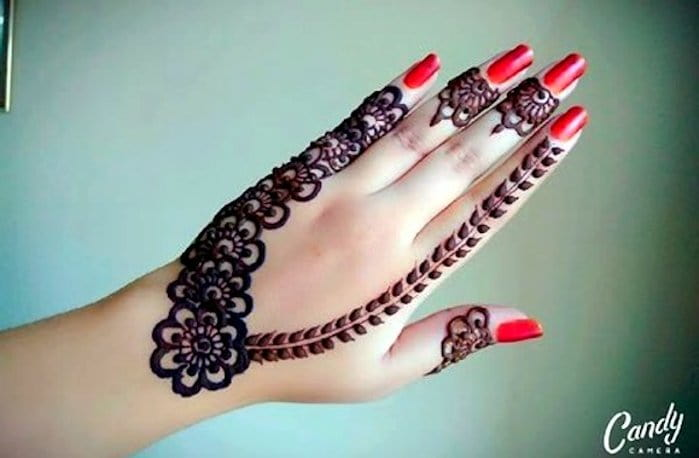 Necklace Mehndi Designs 2018