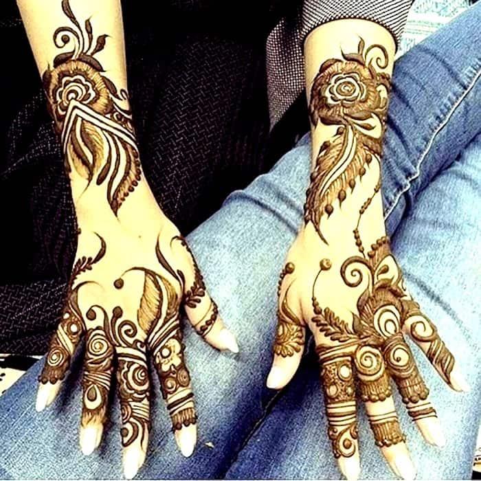 Khafif Mehandi designs image
