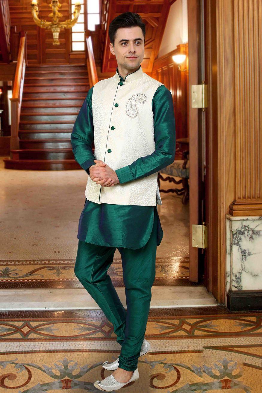 Mehandi Function Dress For Men