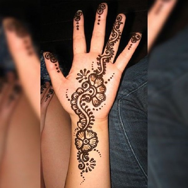 latest arabic designs for mehndi