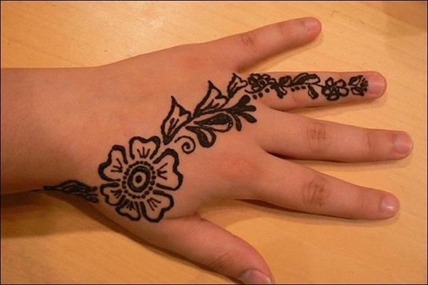 arabic mehandi designs for kids