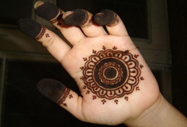 chakra mehandi designs for kids