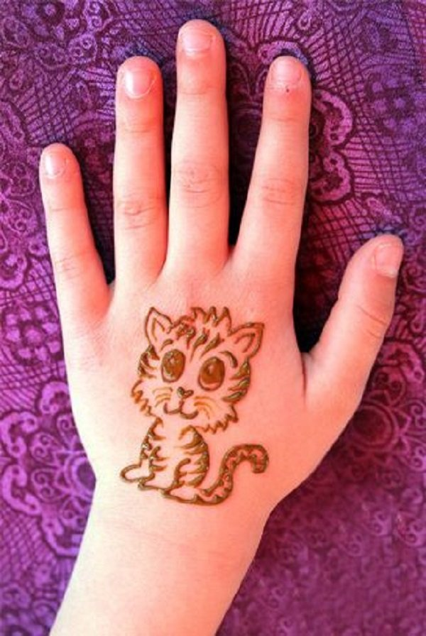 Top 101 Cartoon Simple Mehndi Designs For Kids They Just Love Them,Cool Minecraft Farm Designs