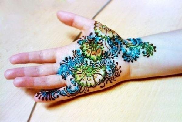 mehndi design for kids
