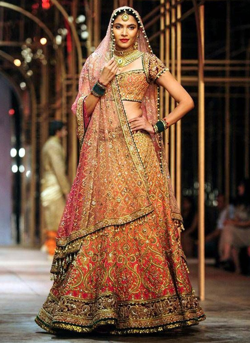 Bridal Lehenga Latest Color Trends 2018