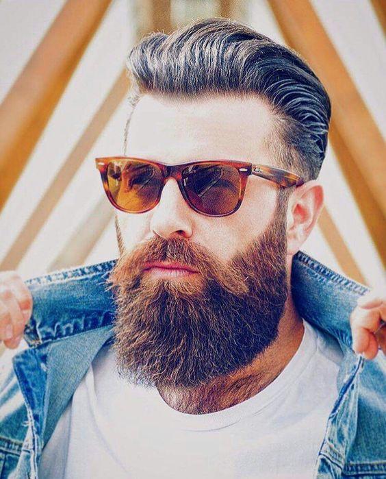 full beard style for indian men