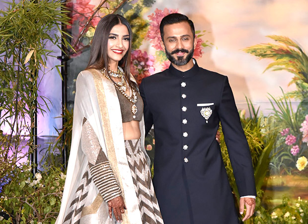 sonam kapoor and anand ahuja wedding picture 2018