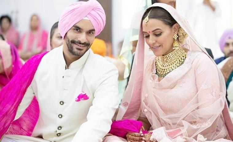 angad bedi and neha dhupia wedding 2018