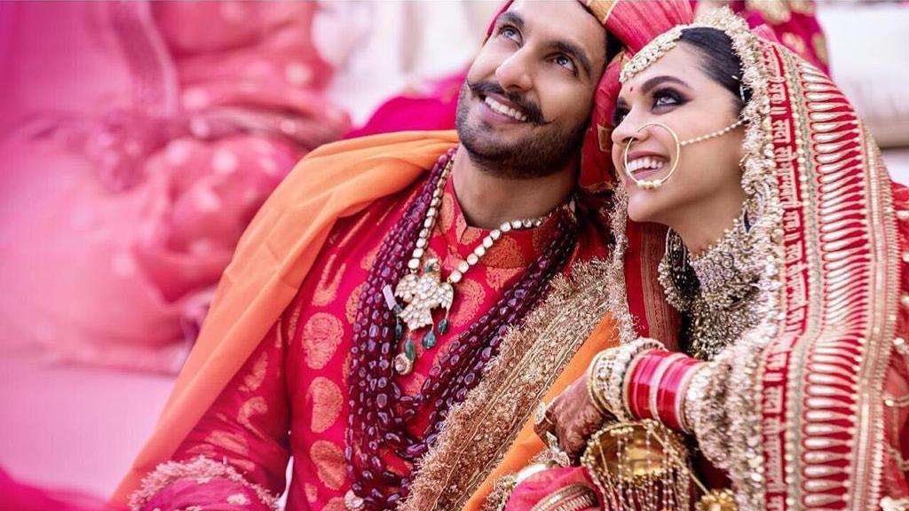 deepika and ranveer wedding picture 2018