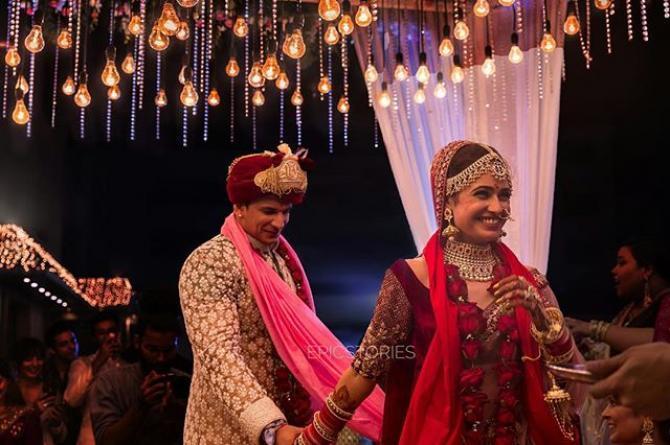 prince narula and yuvika wedding 2018