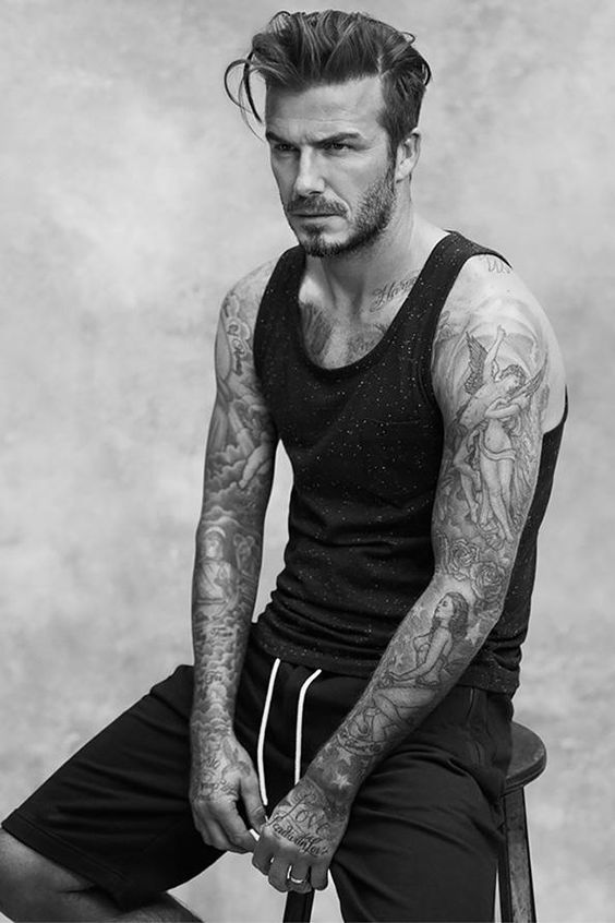 super sexy beckham hairstyle for men