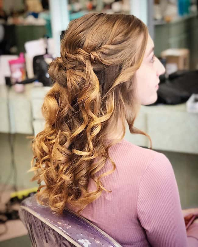 bridal hair designs for long hair