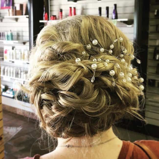 wedding hairstyles for short hair step by step