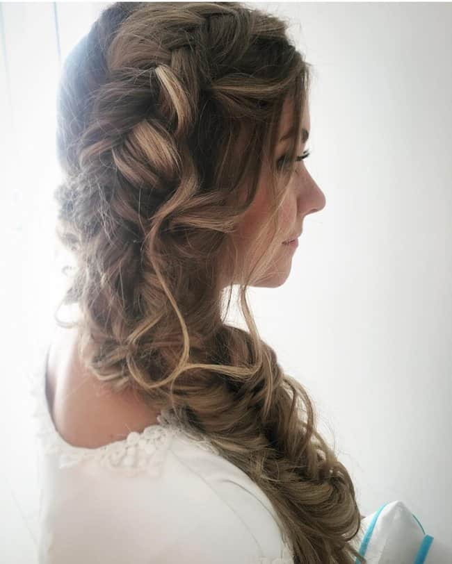 indian wedding party hairstyles for long hair