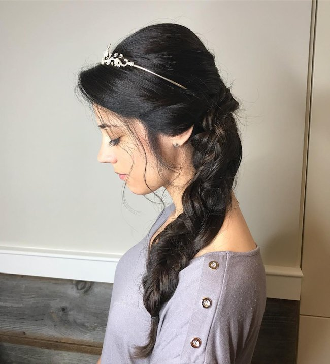 Wedding Hairstyles For Long Hair And Short Hair