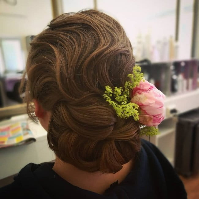 best wedding hair style for long hair