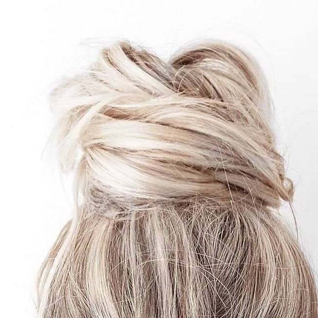 the knot - bridal hairstyle for long hair