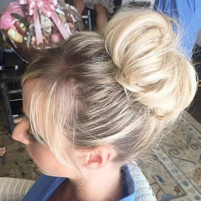 the knot - long hair wedding styles