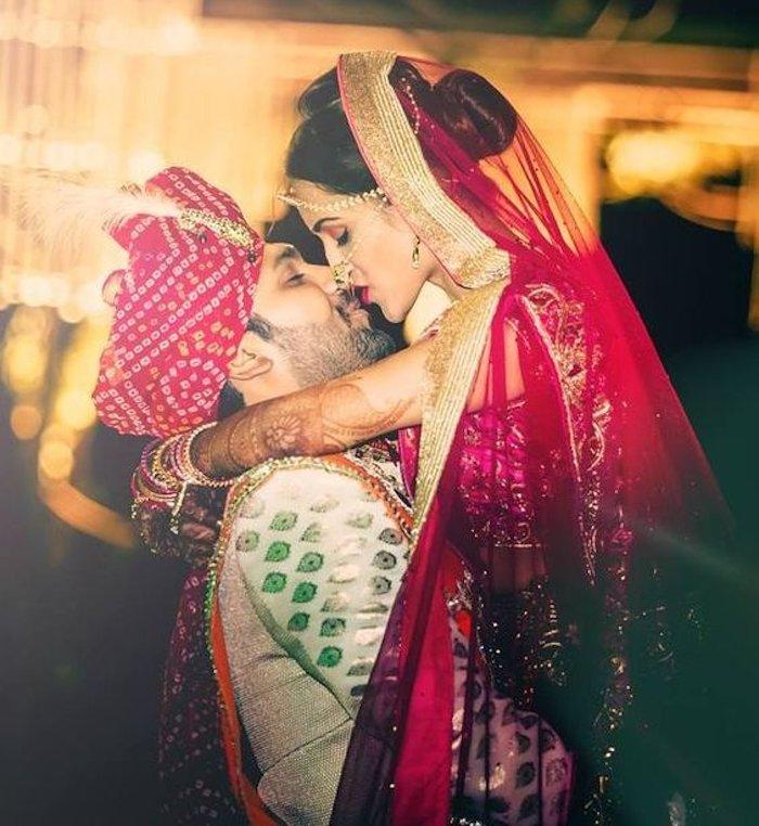 couple passionate kisses image