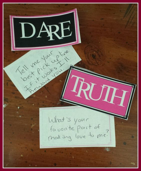 truth & dare game new year celebration idea