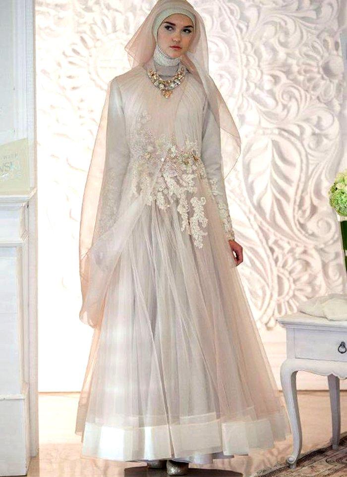 Syrian bridal wedding outfit