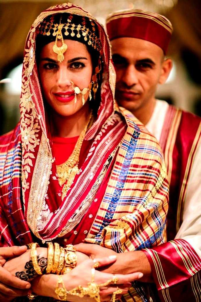 Sudan bridal wedding outfit