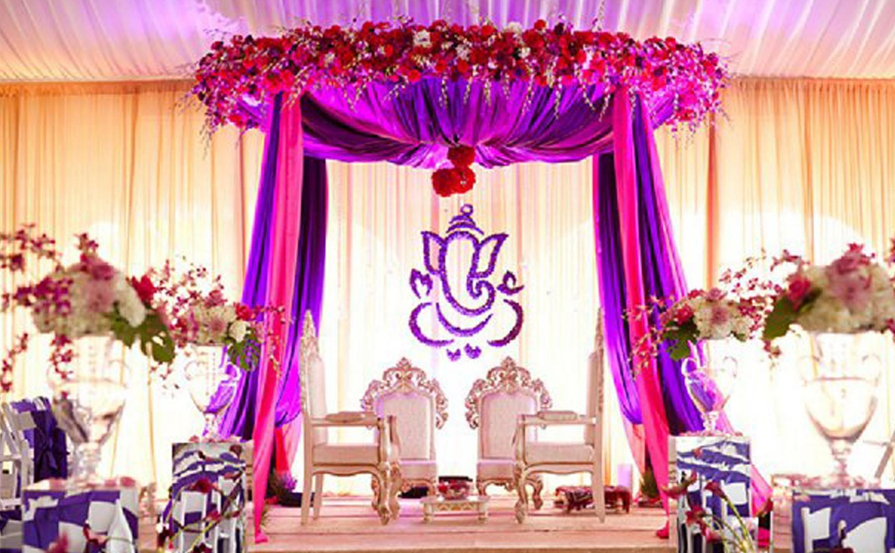 color combination for stage decoration