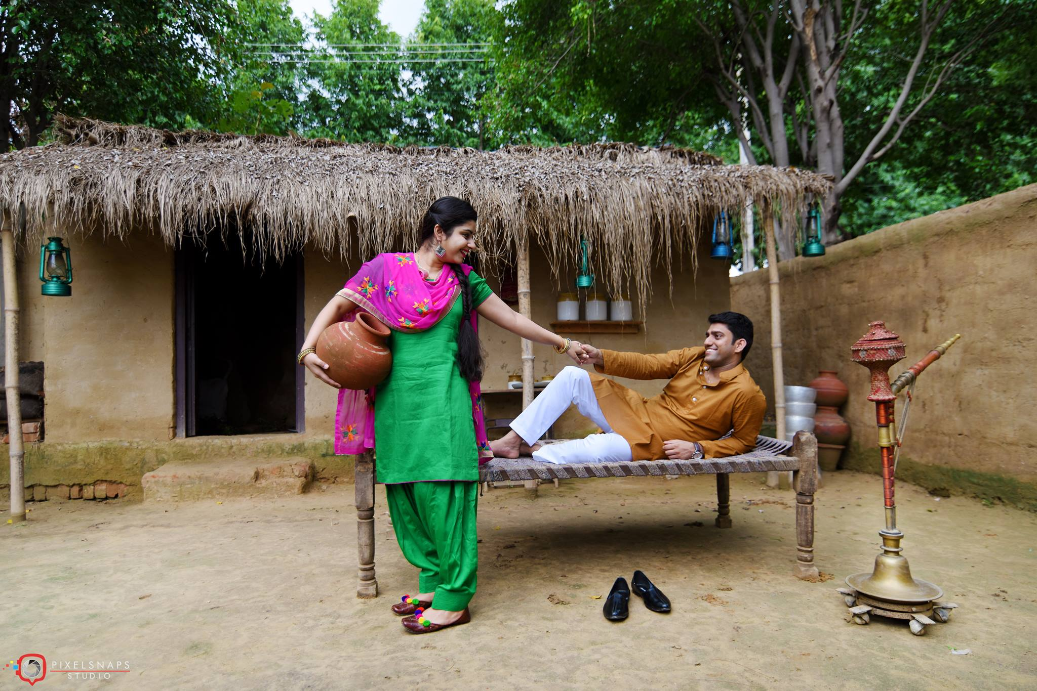 indian pre wedding photoshoot ideas outdoor
