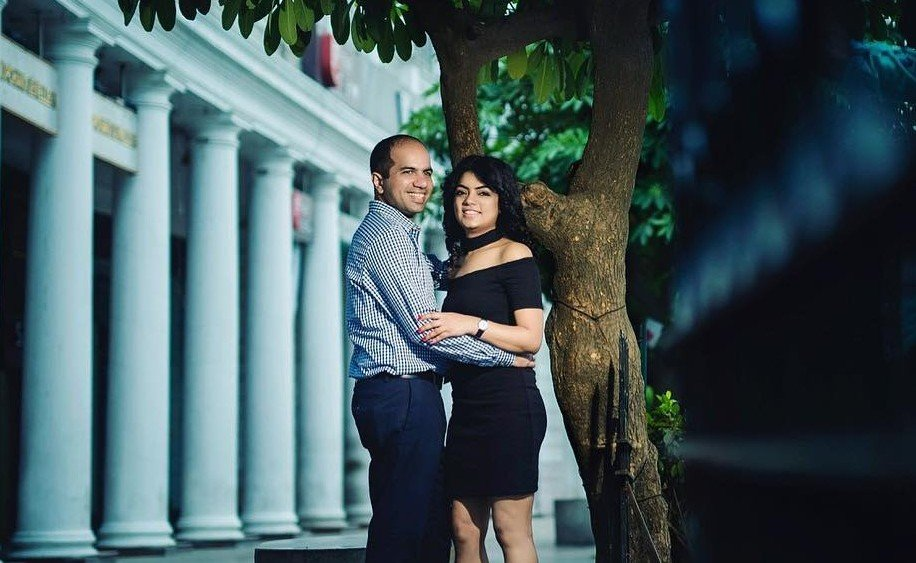 Connaught Place Pre Wedding Shoot