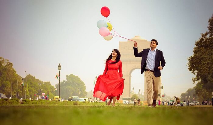 India Gate Pre Wedding Shoot Location