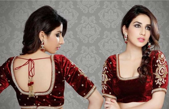 sample blouse design ideas