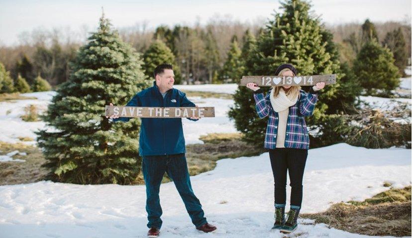 Winter Tree Photoshoot Ideas