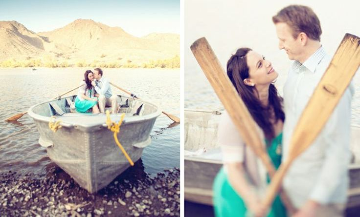 Row Boat Save The Date Ideas