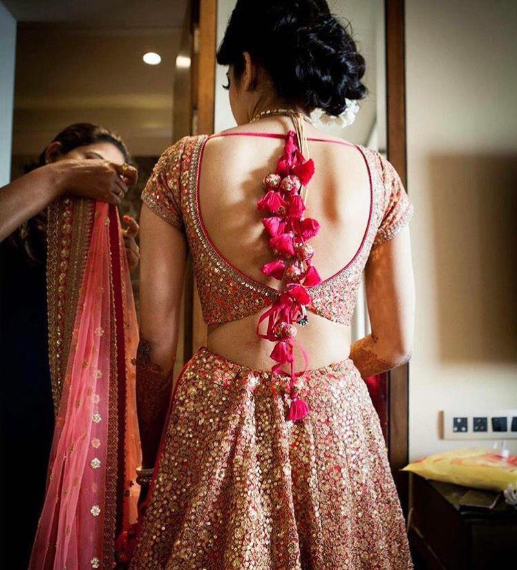 Sexy Back Bridal Shoot