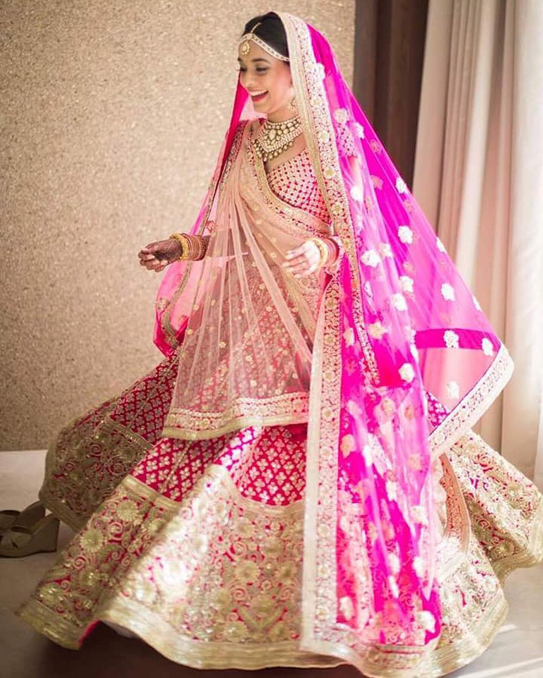 Lehenga Poses For Wedding