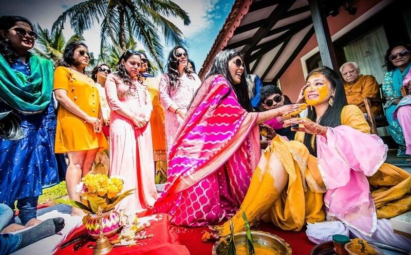 Wedding Haldi