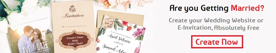 Create Free Wedding Website
