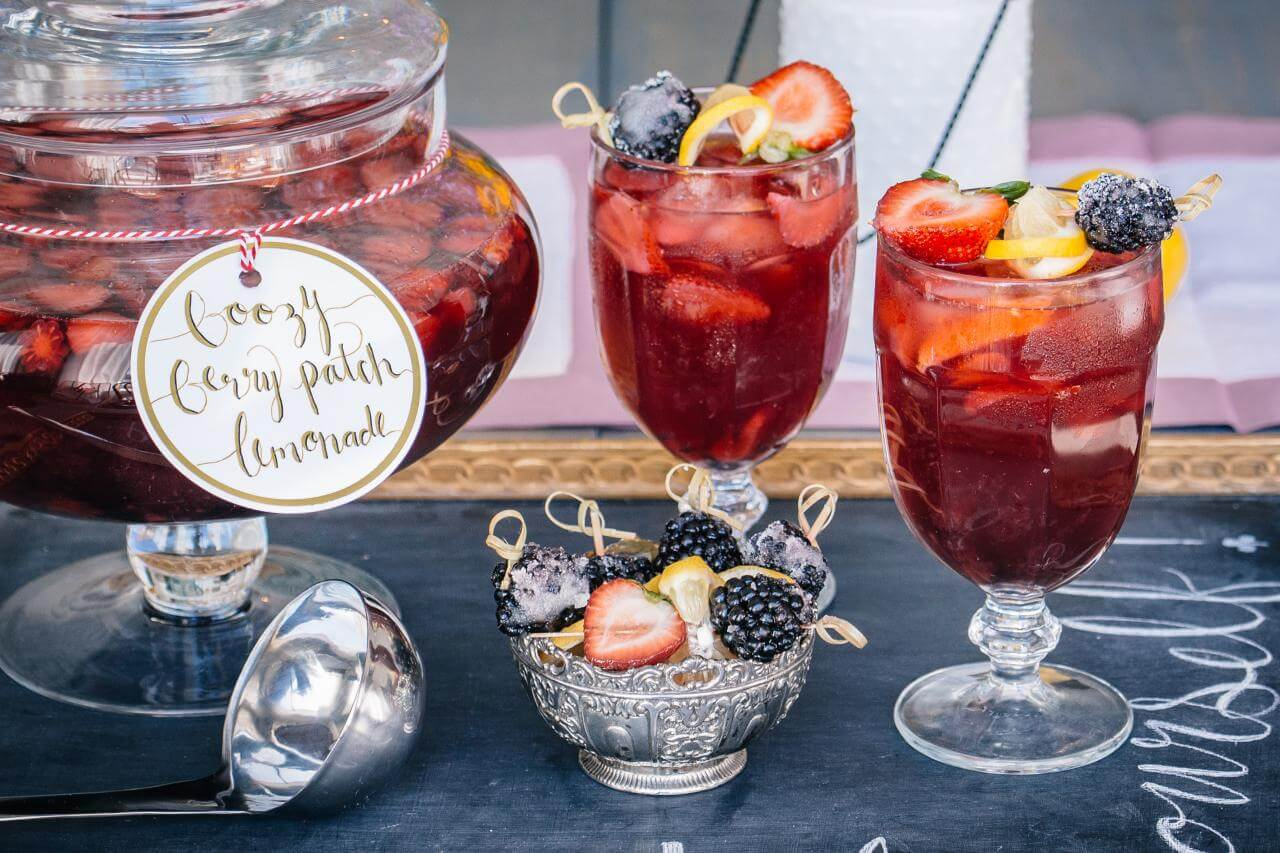 Boozy Berry Patch Lemonade