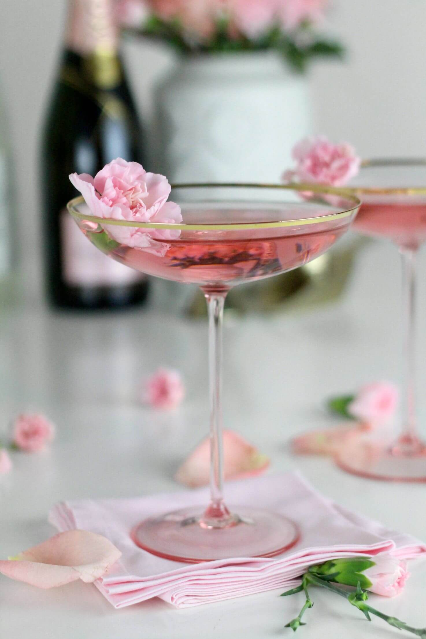 Bubbly Bouquet cocktails