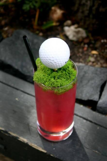Golf-Themed Cocktail