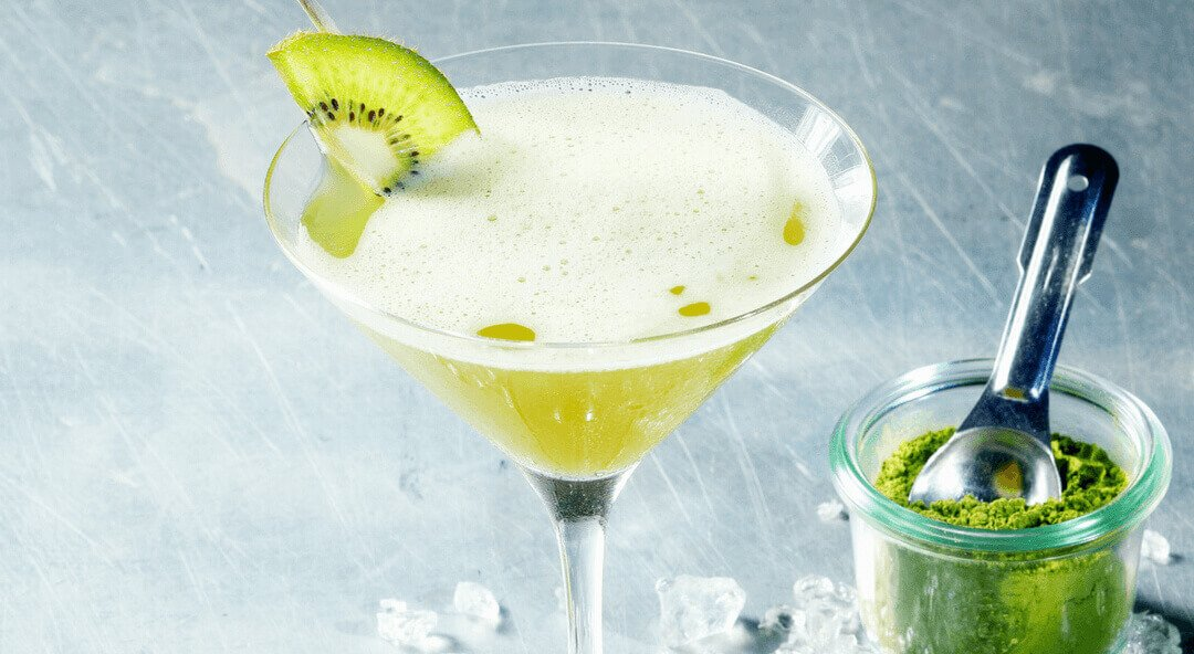 Matcha Green Tea Gimlet