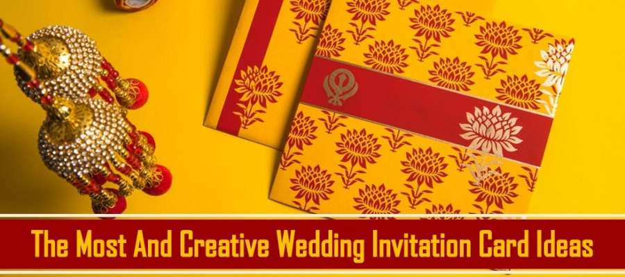 The Most And Creative Wedding Invitation Card Ideas